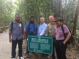 Wet Tropics hosts Papuan visitors