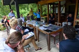 Wet Tropics Management Authority board visits Kuranda