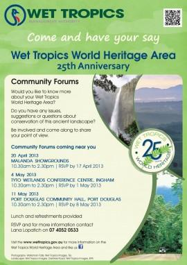 Wet Tropics Community Forums