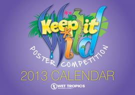 Keep it Wild 2013 Calendar