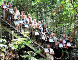 Experts guide the guides at innovative tour school