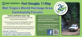 Port Douglas Community Forum