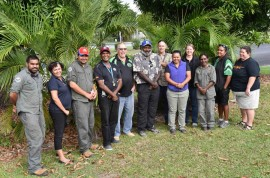 Workshops for Rainforest Aboriginal people