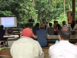 Tour Guide field school provides highlights