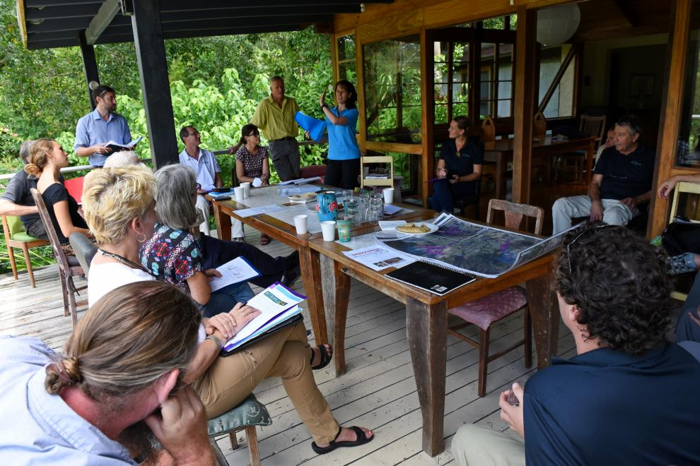 Wet Tropics Management Authority board visits Kuranda