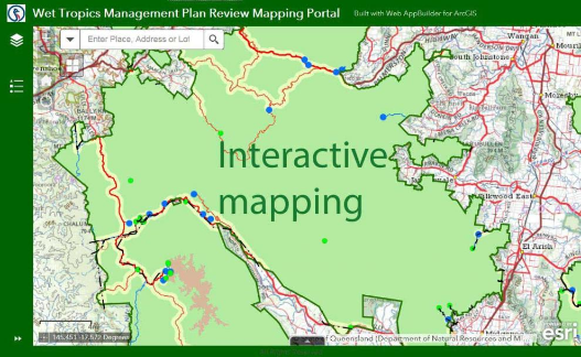Plan review - interactive mapping Photographer: WTMA