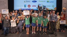 Wet Tropics champions recognised at 18th Cassowary Awards