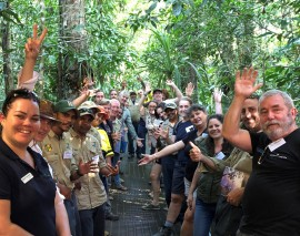 A+ for a successful Wet Tropics tour guide workshop and field school