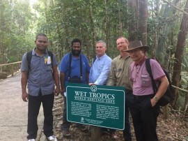 Wet Tropics hosts Papuan visitors