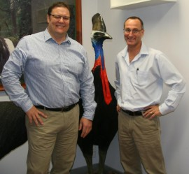 Senator Lazarus visits the Wet Tropics