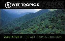 Wet Tropics vegetation maps online
