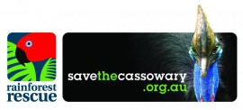 Rainforest Rescue campaign for southern cassowary