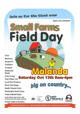 Malanda  Small Farms Field Day