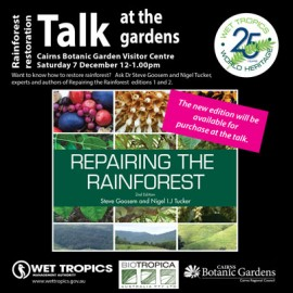 Repairing the Rainforest Talk