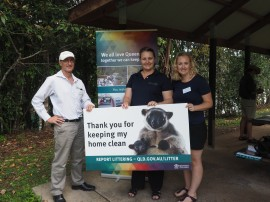 Littering and illegal dumping campaign for the Gillies Range