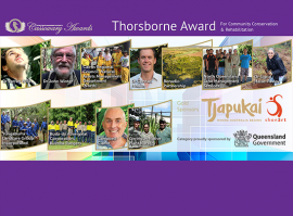 Vast nominees' field announced for Thorsborne Cassowary Award