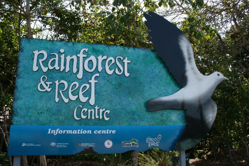 Carwell Rainforest and Reef Visitor Centre Photographer: WTMA