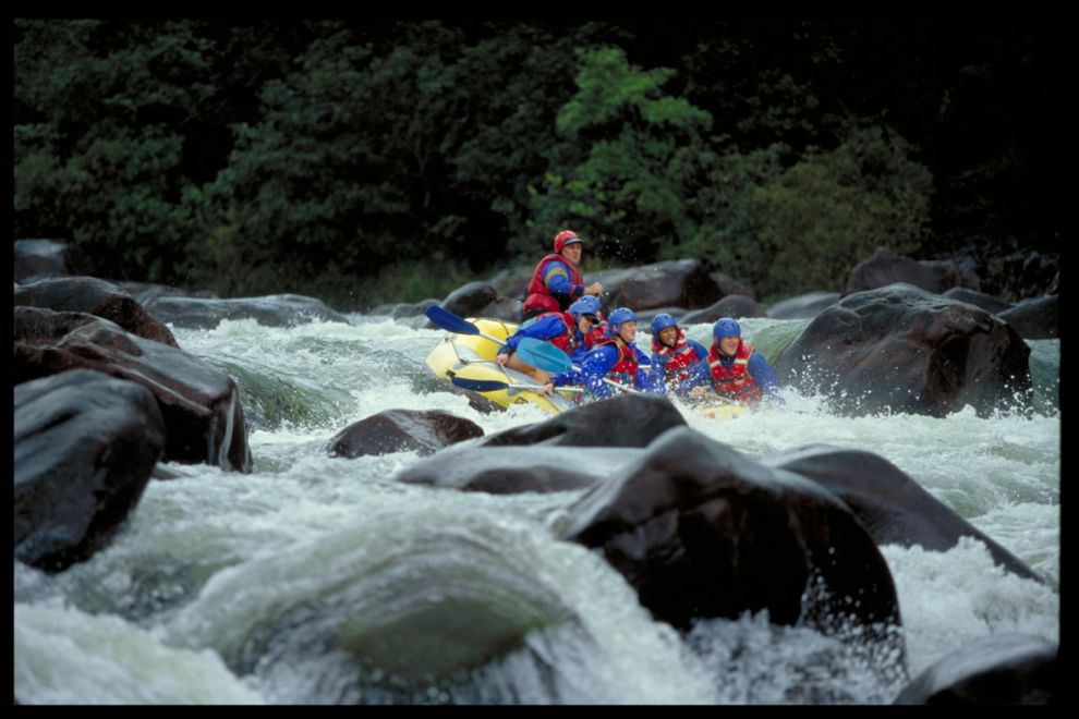 Rafting Tully River Photographer: EPA
