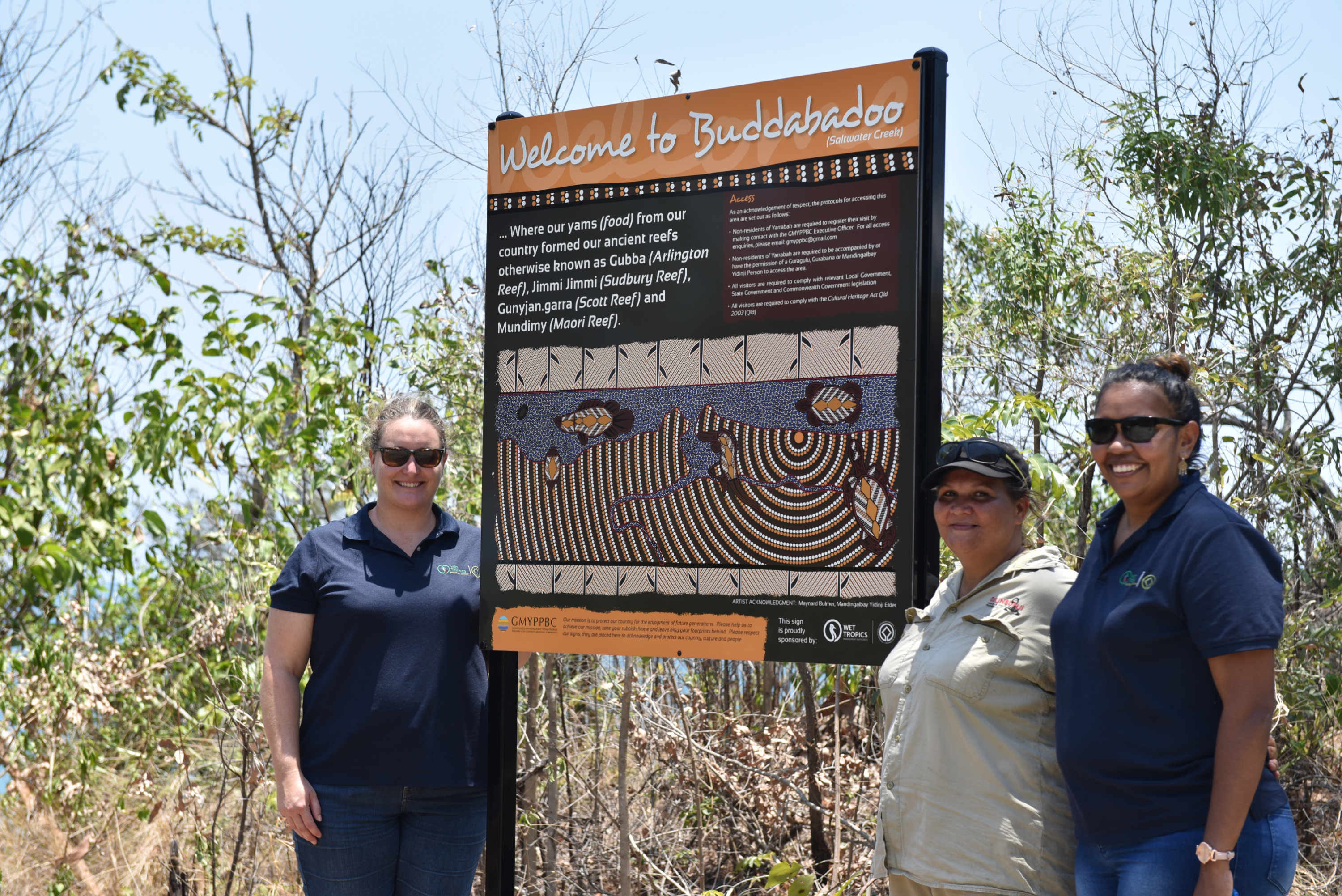 Signs unveiled at Yarrabah