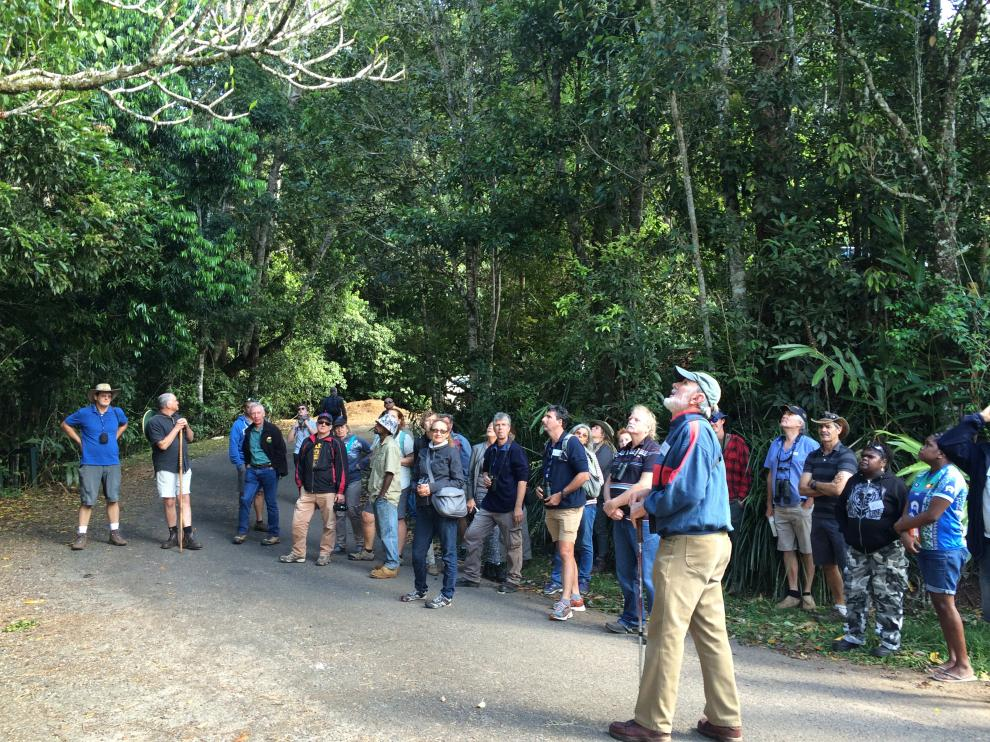 News from the 9th Wet Tropics Tour Guide field school