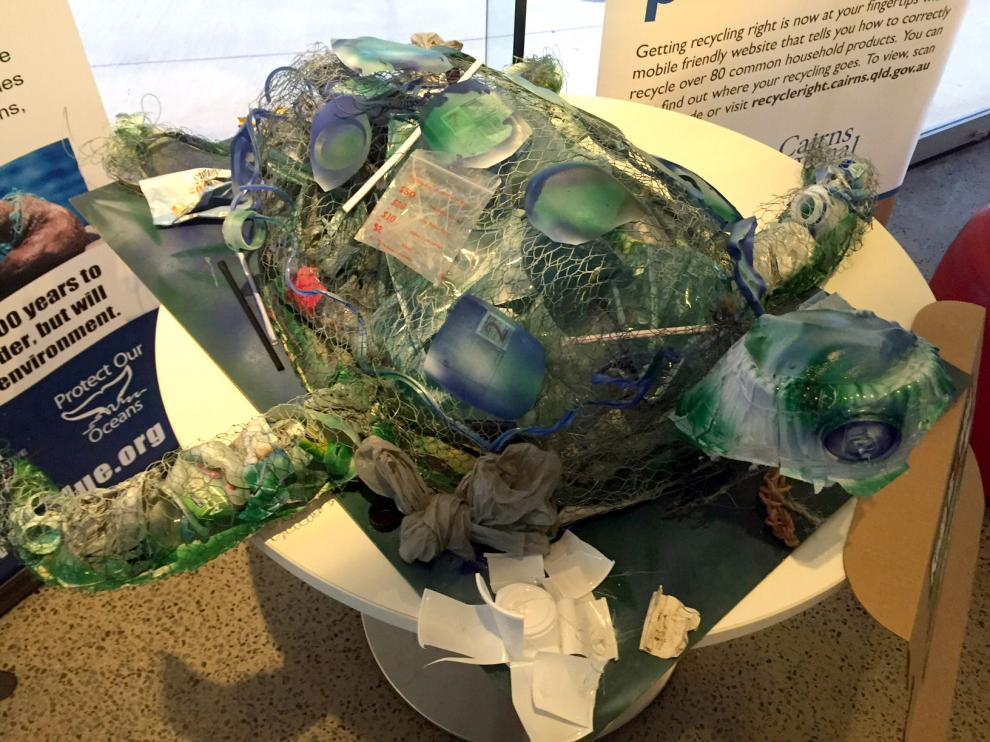 From rubbish to rewards, local kids flex their creative muscles with Wet Tropics eco-art