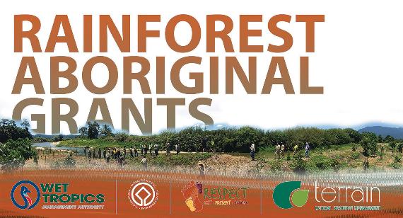 Rainforest Aboriginal Grants banner 2017 Photographer: WTMA